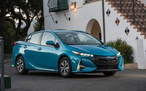 Picture Toyota, Car, 2017, Metallic, Prius Prime