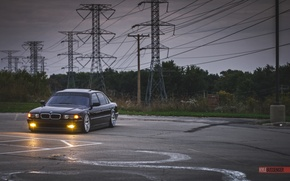 Picture BMW, Boomer, BMW, tuning, Stance, E38, 740iL