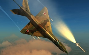 Picture the simulator, «Eagle Dynamics», DCS World, The MiG-21, fighter, multipurpose