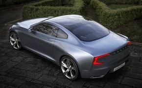 Picture car, concept, volvo, coupe