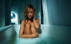 Picture actress, bath, TJ Scott, Caitlin Wong, Kaitlyn Wong, Kaitlyn Leeb