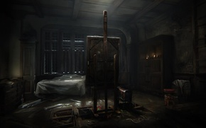 Picture Wall, Blood, Picture, Fear, Horror, Horror, Fear, Horror, Layers of Fear
