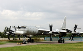"""Picture Russia, Tu-95MS, """"Bear"""", Central air force Museum, Monino"""