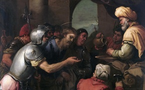 Picture picture, Pilate Washes His Hands, mythology, Luca Giordano, religion