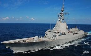 Picture gun, sea, NATO, ship