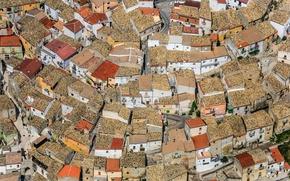 Picture Apulia, Italy, Delicate, home, panorama, Foggia, roof