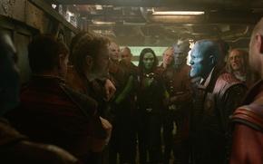Picture Zoe Saldana, Marvel, Marvel, Gamora, The old Lord, Gamora, Guardian of the galaxy, Chris Pratt, …