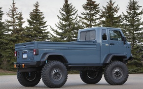 Picture cabin, body, cargo, Jeep, Mighty