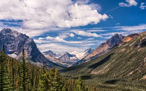 Picture landscape, mountains, nature, valley