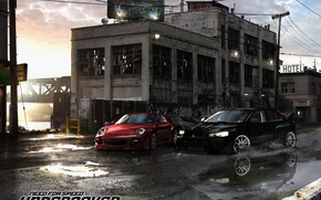 Wallpaper race, NFS Undercover, machine