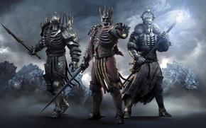 Picture sword, armor, helmet, generals, The Witcher 3: Wild Hunt