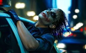 Wallpaper the dark knight, Joker, art, machine, police, Joker, The dark knight