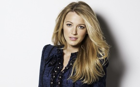 Picture portrait, actress, blonde, Blake Lively