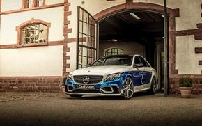 Picture Mercedes-Benz, gate, Mercedes, Carlsson, 2015, C-Class, W205, Rivage