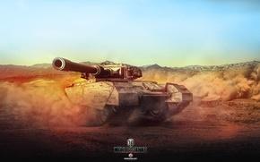 Picture Game, Desert, Art, World of Tanks, M103, Centurion Mk. 7/1, Wargaming, FuriousGFX