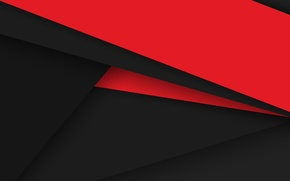 Wallpaper Android, Red, Design, Black, 5.0, Line, Colors, Lollipop, Stripes, Abstraction, Material