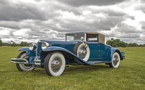 Picture retro, classic, Cord, 1931 Cord L-29 Cabriolet