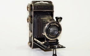 Picture camera, the camera, lens, 1933, Voigtlander Inos II