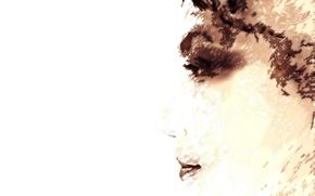Wallpaper look, girl, portrait