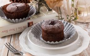 Picture chocolate, cupcake, muffin