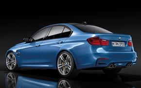Picture BMW, Background, Back, F80, BMW, Otragenie