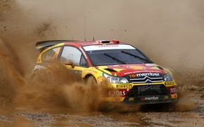 Picture Auto, Sport, Dirt, Citroen, Squirt, WRC, Solberg, Rally, Rally, The front