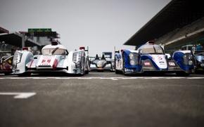 Picture Audi, prototype, Toyota, Le Mans 24 2013