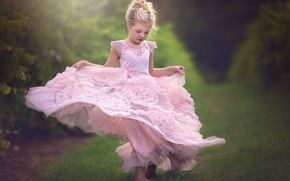Picture mood, dress, girl
