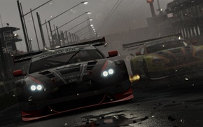 Picture Aston Martin, the game, Vantage, game, 2012, cars, GT3, V12, Project, Project CARS, 2015, Slightly …