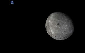 Picture The moon, Earth, Chang 5-T1