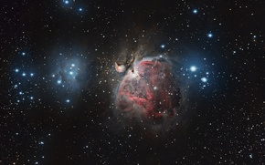 Picture space, nebula, space, stars, constellation, the universe, Orion