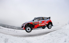 Picture Jump, Hyundai, WRC, Rally, i20, Neuville