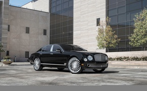 Picture Bentley, mulsan, black, Black, Bentley, Mulsanne