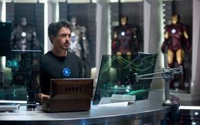 Picture man, actor, Iron man 2, Tony
