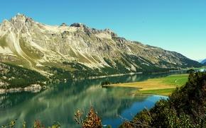 Picture nature, lake, mountain, nature, mountain, Lake