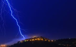 Picture the sky, light, night, lights, lightning, France, home, Alps, Provence, Cote d'azur, alain calissi Photography, …