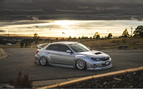 Picture Subaru, Impreza, WRX, STi, JDM, Stance, Low, BellyScrapers