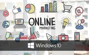 Picture windows, online, windows 10, marketing, windows10