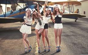 Picture the plane, girls, Asian girls, kpop, Bora, Hyolyn, sistar, Dasom, Soyou