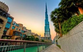 Picture the evening, Dubai, UAE, Burj Khalifa