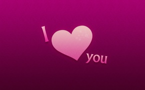 Wallpaper love, the inscription, Valentine's day, I love you, 14 Feb, valentine's day