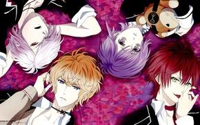 Picture vampire, brothers, Diabolik Lovers, Sakamaki