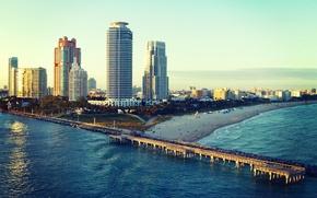 Picture beach, the ocean, Miami, FL, Miami, florida, Miami Beach