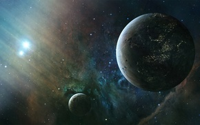 Picture stars, planets, sci fi
