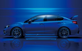 Picture sport, subaru, blue, sti, wagon, tuned.impreza
