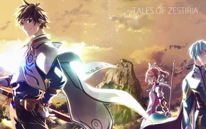 Picture girl, anime, art, guys, Tales Of Zestiria The X