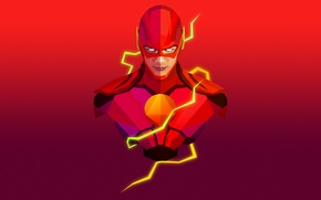 Picture comics, flash, serial, the flash, super hero, justin maller