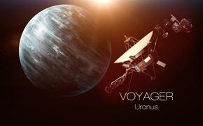 Picture satellite, Uranus, Travel