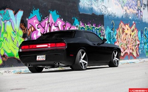 Picture Dodge, Challenger, graffity, SRT