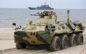 Picture machine, combat, BTR-80, APC, infantry